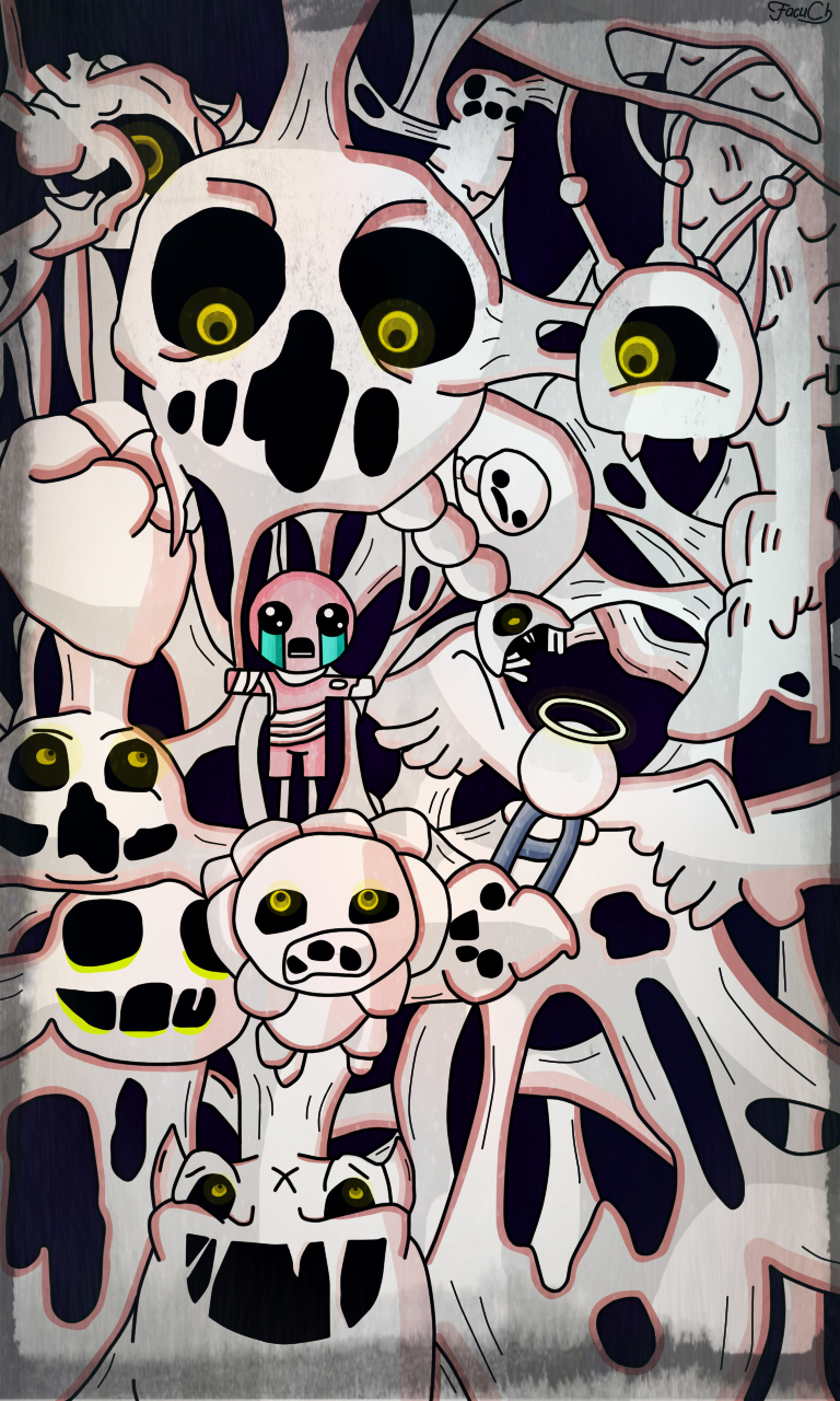 Binding Of Isaac Bedroom: The Binding Of Isaac: Delirium By FacuCh On DeviantArt