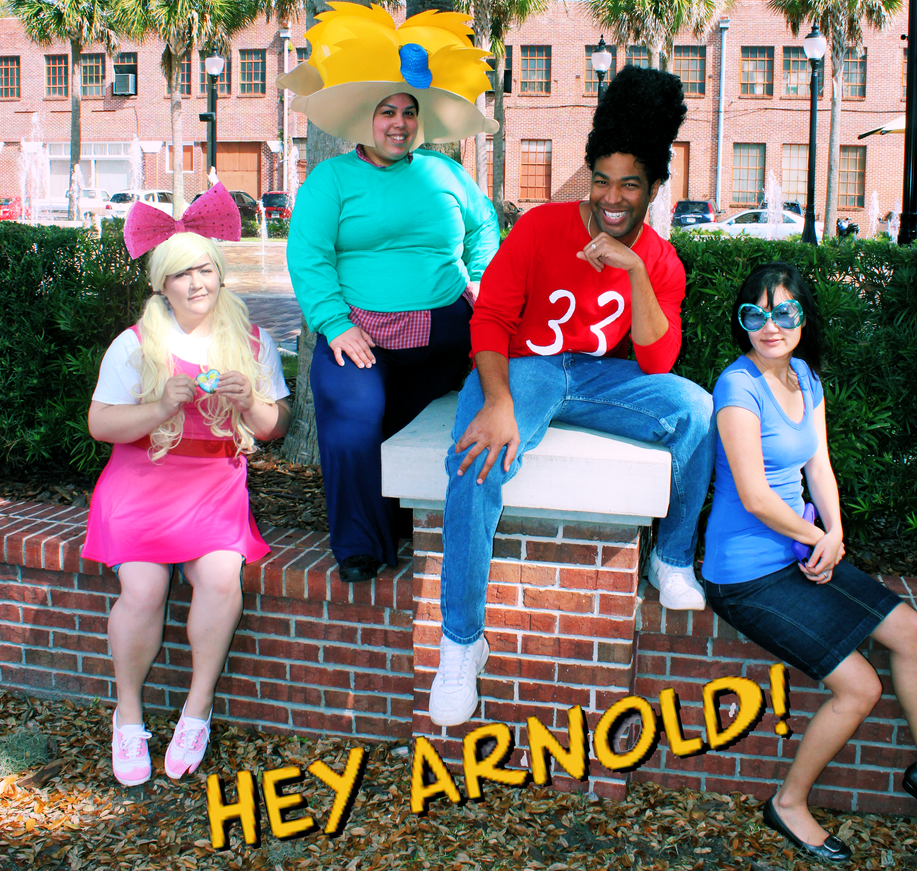 Hey Arnold! The Gang! by AliceingJabberwocky