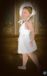 Isabella's Easter dress by Chronophontes