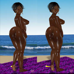 Aisha flaunts in stereo by Chronophontes