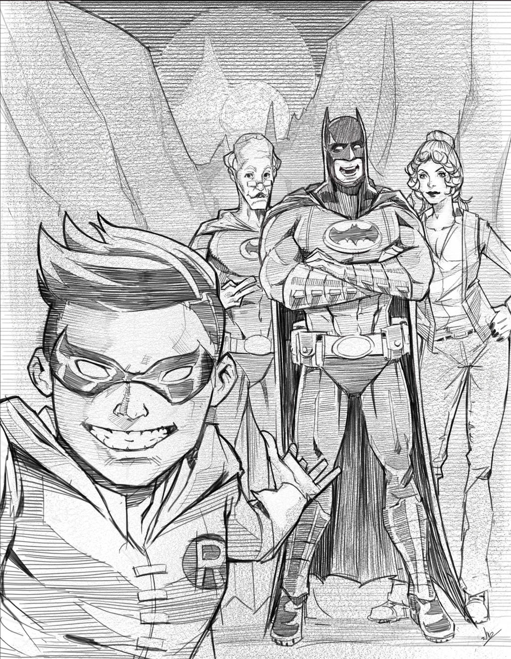 Lego Batman Sketch Fanart By Panotsonsuwon On DeviantArt