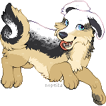 Flat Tag Commission   Toucat by Nopeita