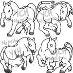 YCH Horse Pixel Tags (SOLD)