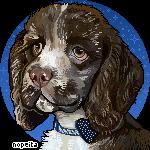 Pixel Portrait Commission | confetti