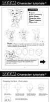 Manga TUTORIAL'Drawing Reem'
