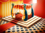 1001 night bedroom concept