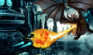 Dragon Escape by X-Factorism