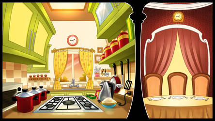 Cooking game concept