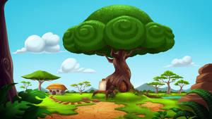 Hukaiman Forest environment