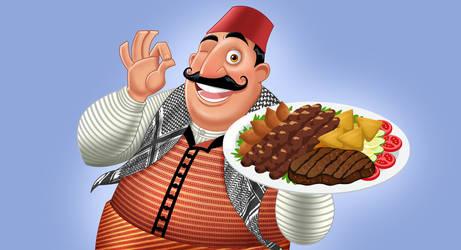 Damascene chef