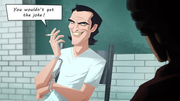 Joker final scene