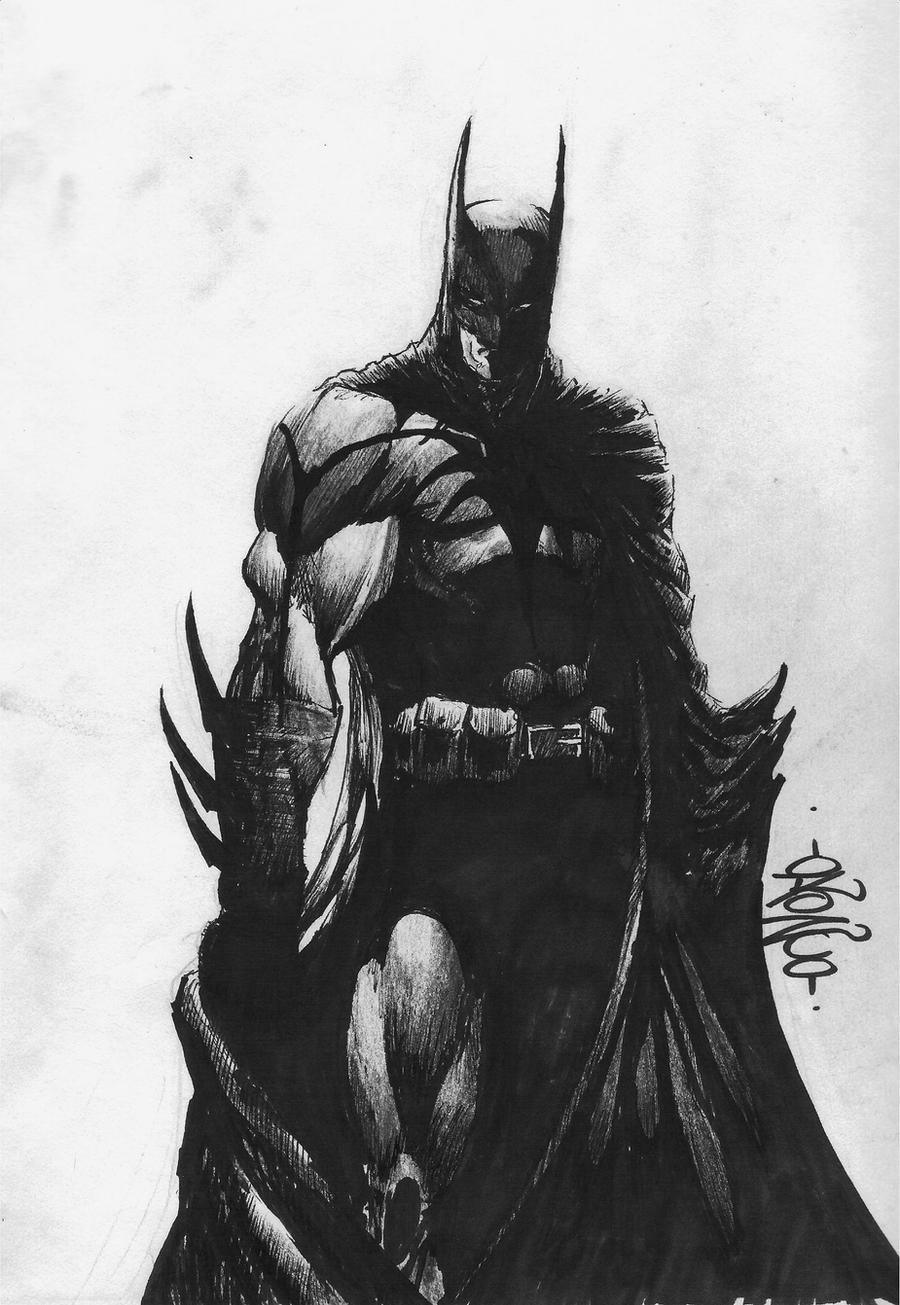 batman by hairlessmonkee