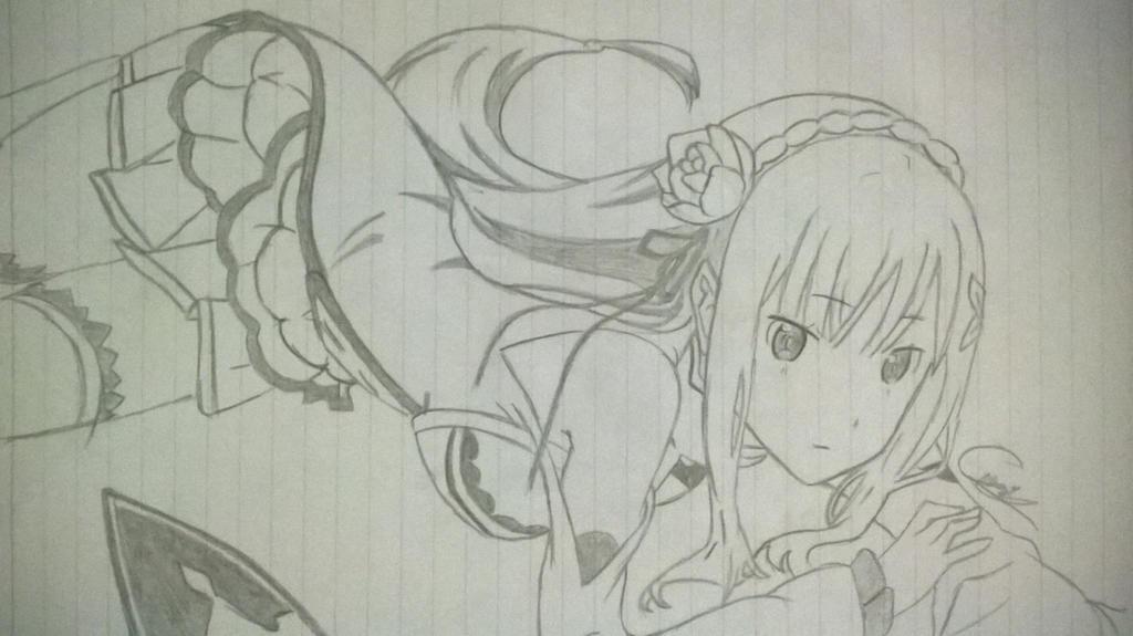 Line Art Zero : Zero lineart by master tomoya on deviantart