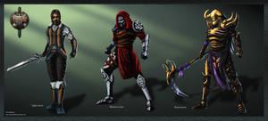 Renegade Armor types