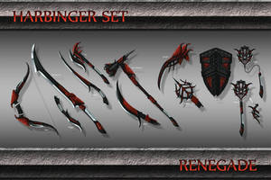 Harbinger Weapon Set by Emortal982