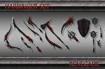 Harbinger Weapon Set