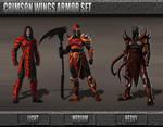 Crimson Wings Armor Set