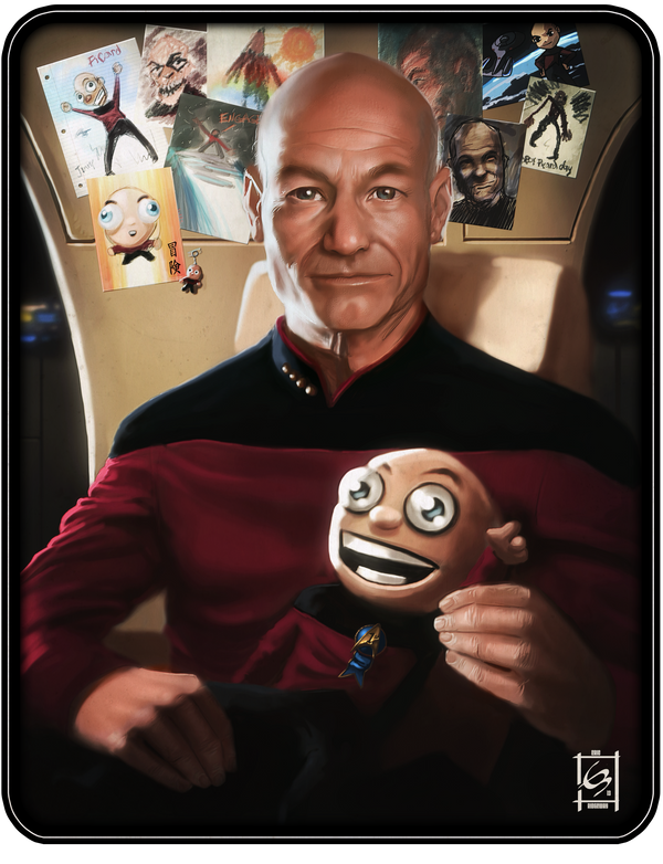 Captain Picard Day by Emortal982 on DeviantArt
