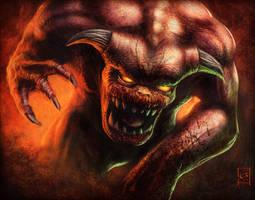 Pinky Demon by Emortal982