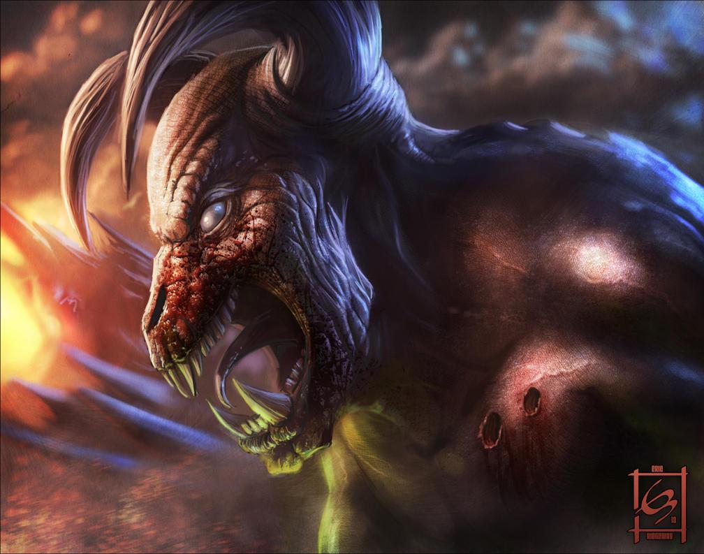 Más fanarts de Doom Baron_of_hell_hell_knight_by_emortal982-d6cx0cx