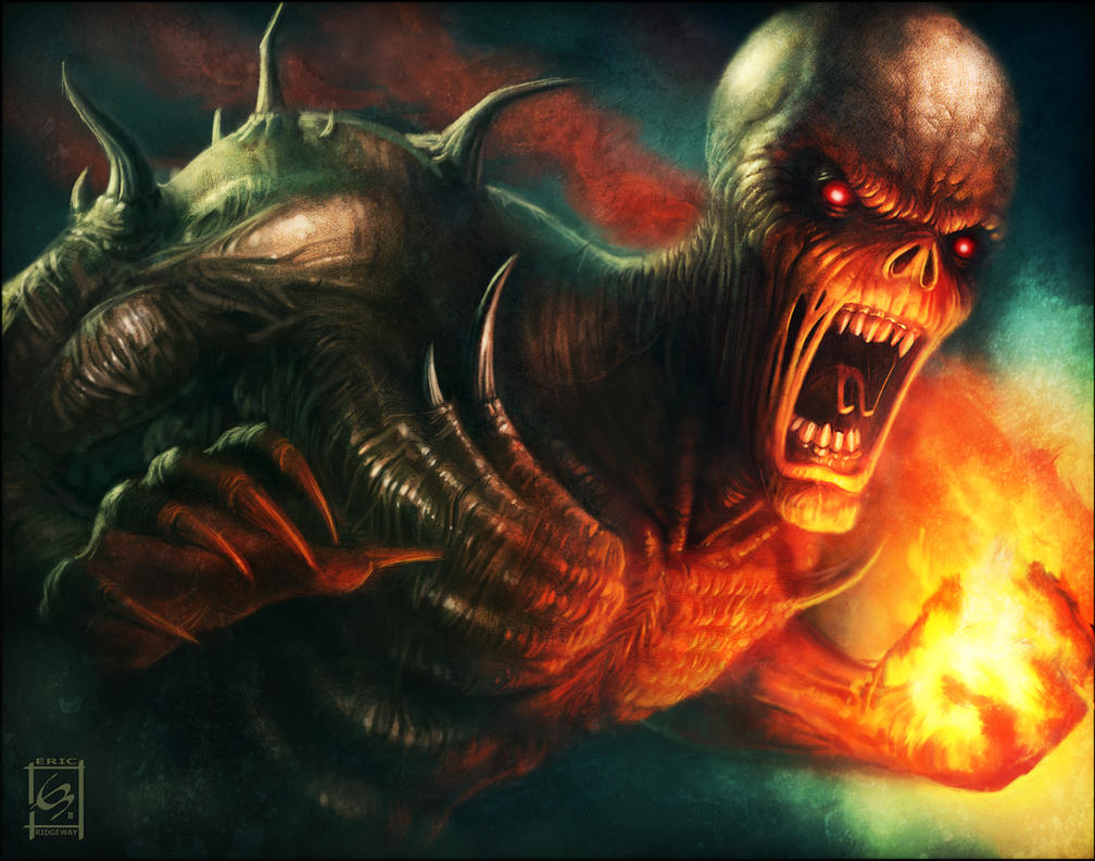 Doom Imp by Emortal982