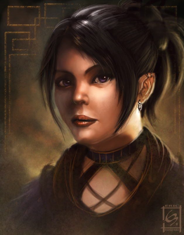 Pathfinder character by Emortal982