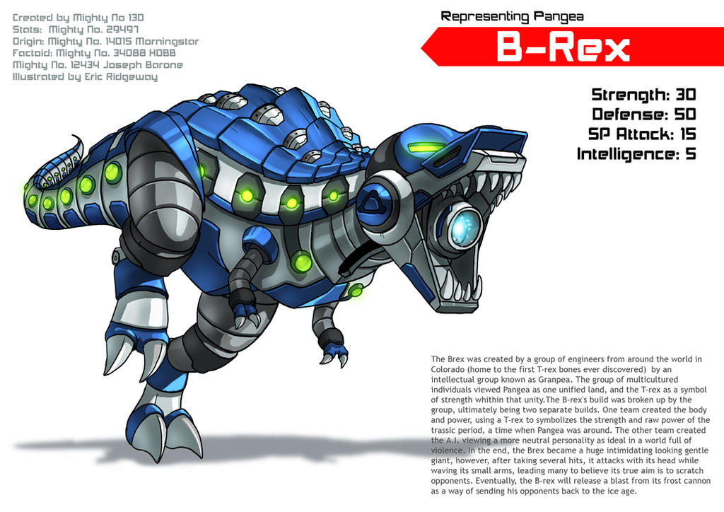 Mighty B Rex Returns by Emortal982