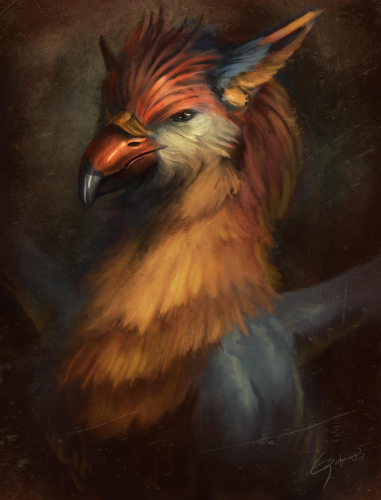 Hippogryph by Emortal982
