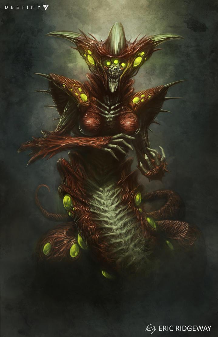 Hive Priestess by Emortal982