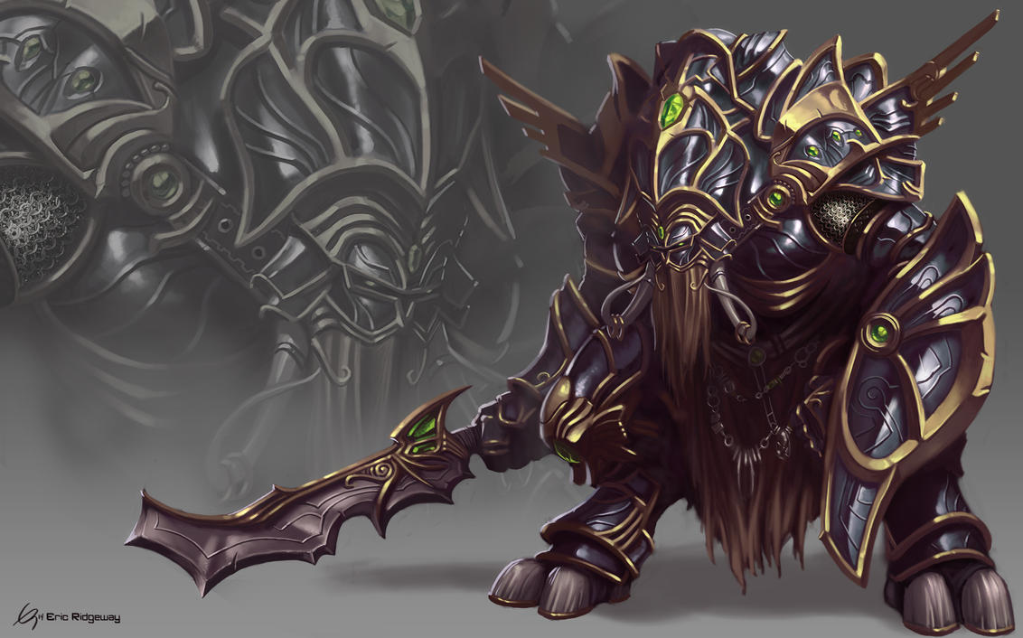 Heavy Knight Concept by Emortal982