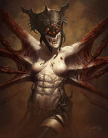 Spider demon by Emortal982
