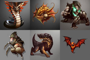 Monsters by Emortal982