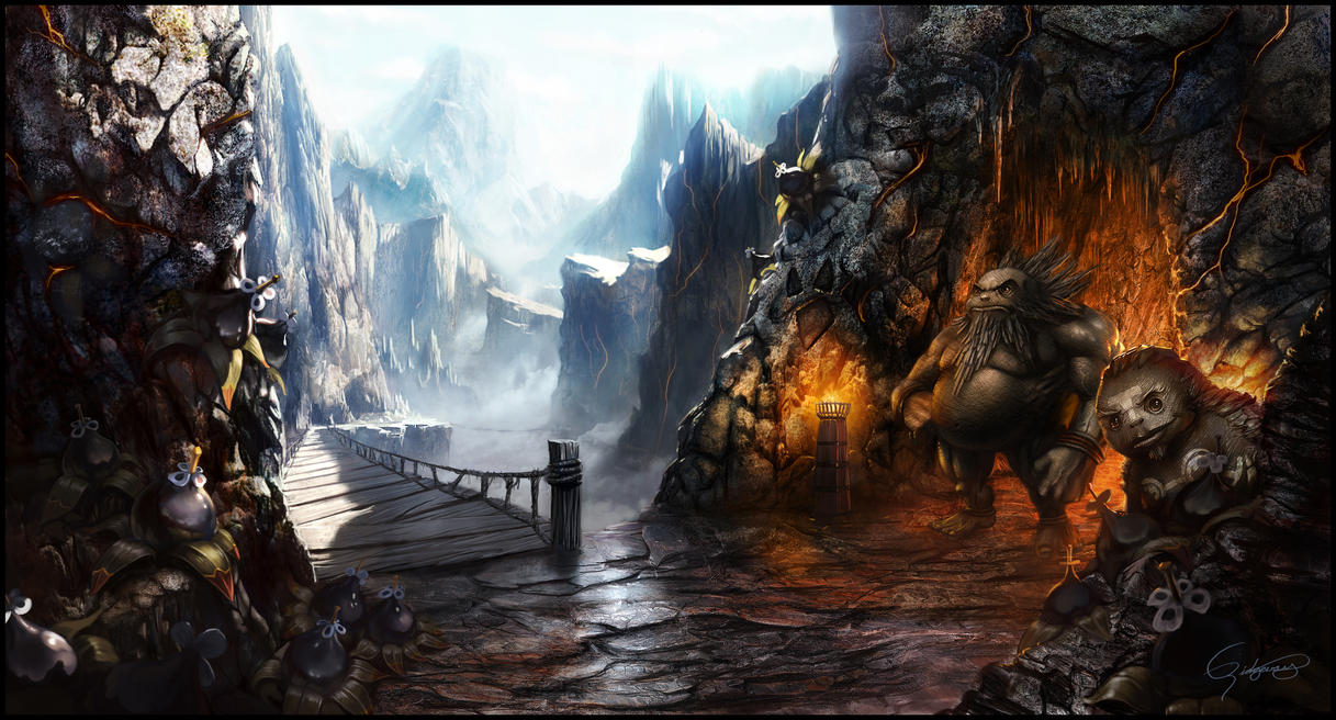 Death Mountain by Emortal982