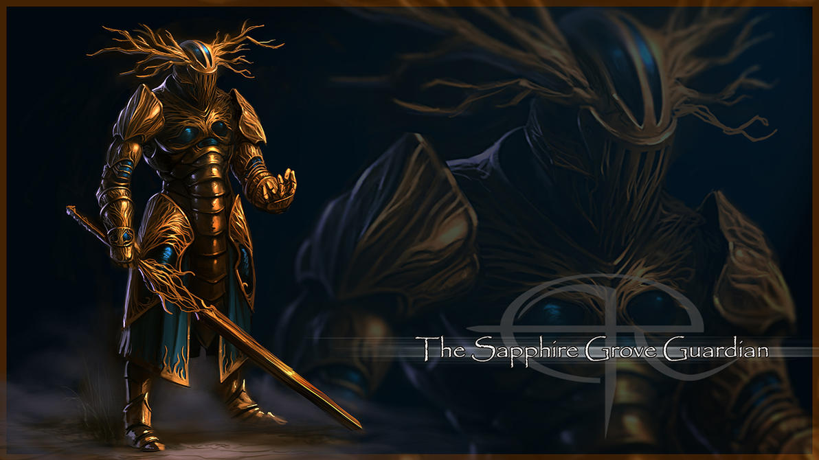 The Sapphire Grove Guardian by Emortal982