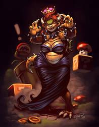 Lady Bowser by Emortal982