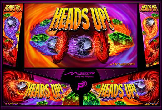 Heads Up design sheet