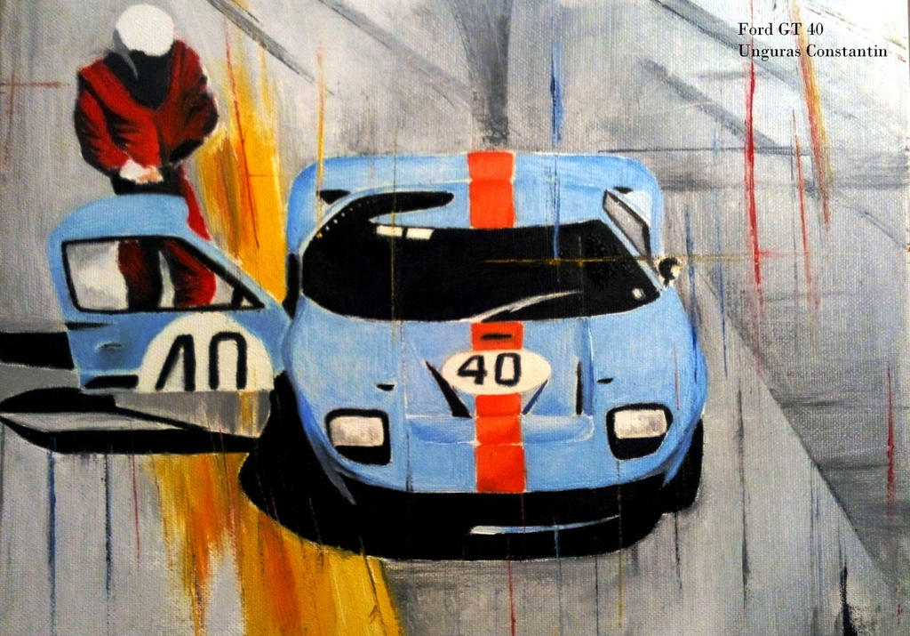 Ford Gt  Gulf By Constantin