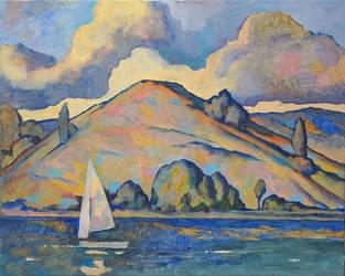 Uslon mountains. Volga