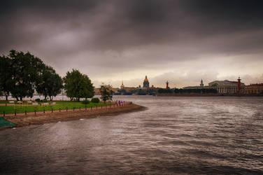 St. Petersburg. Neva river