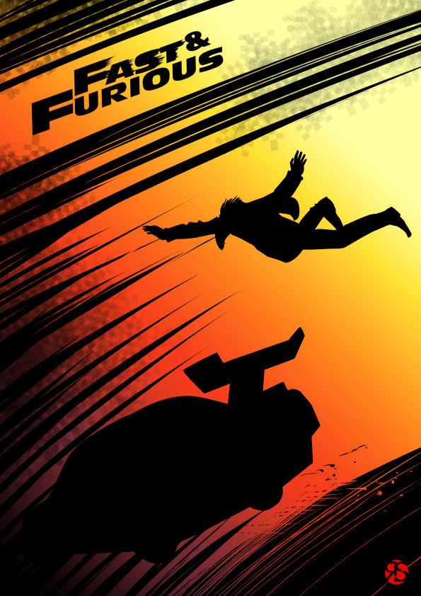 Fast and Furious by Sira Artista Grafico by sira