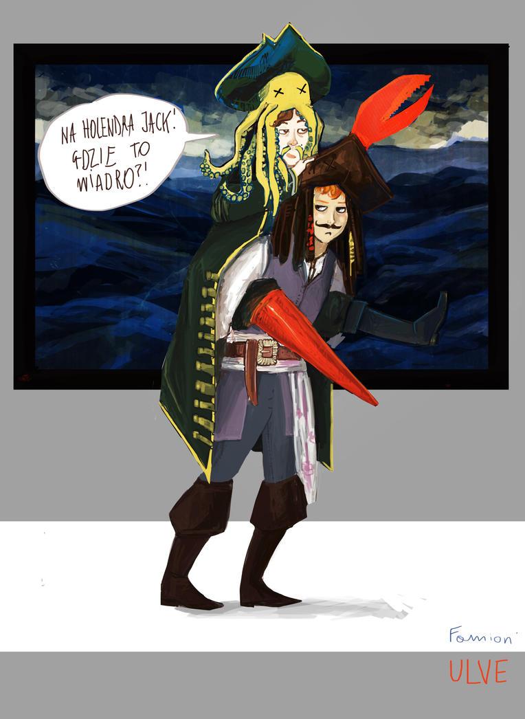 LU: BALOWE Piraci z karaibow i wiaderowa klatwa by ulve