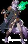 DnD - Lupin Warlock
