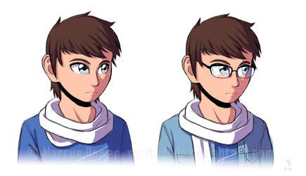 Glasses? by Spritedude
