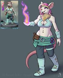 DnD - Ratfolk Sorcerer