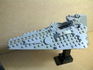 Lego custom Star Destroyer take 2