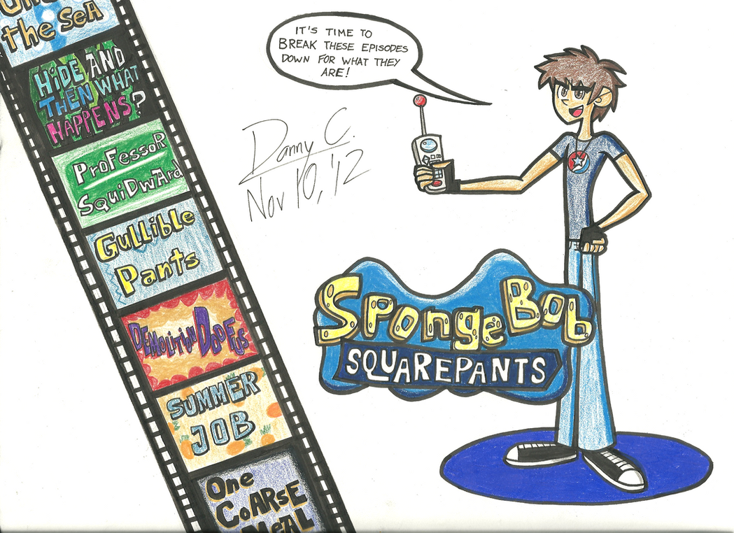 [Ep. 4] The Top 20 Worst SpongeBob Episodes (1/2) by Blu3Danny