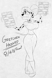 Timeless Cast (34/100): Gretchen Hazard by BluMoonToons