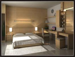 Bedroom by hi-wil