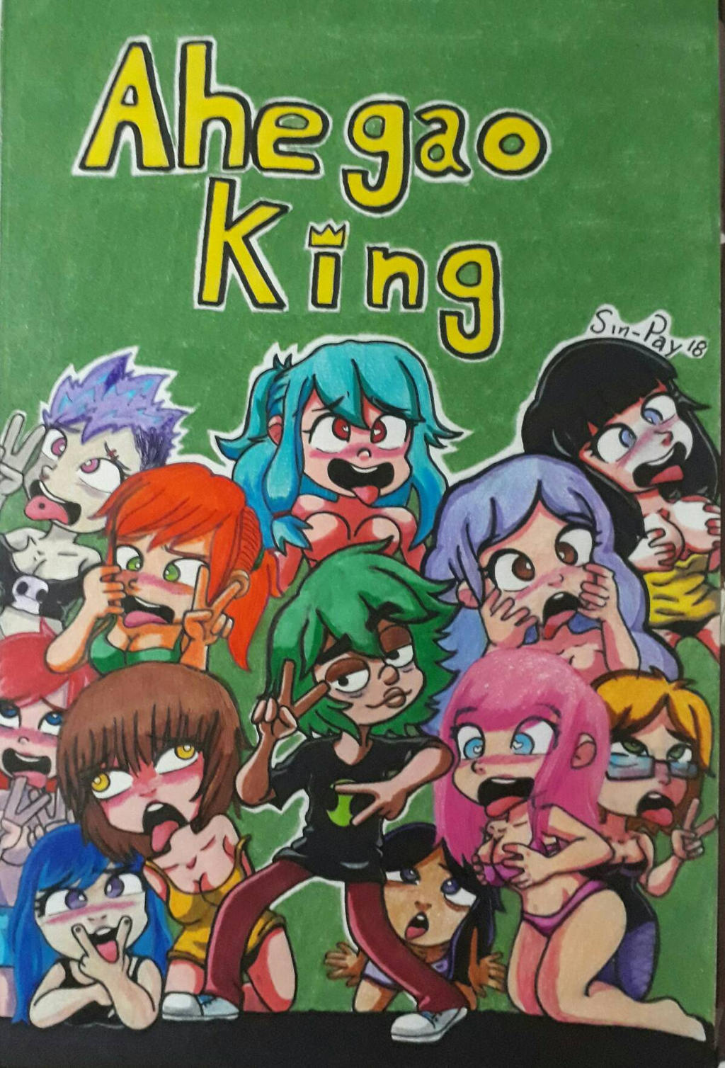 Aheago Comics ahegao kingsin-pay on deviantart