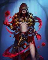Blood troll by Medervik